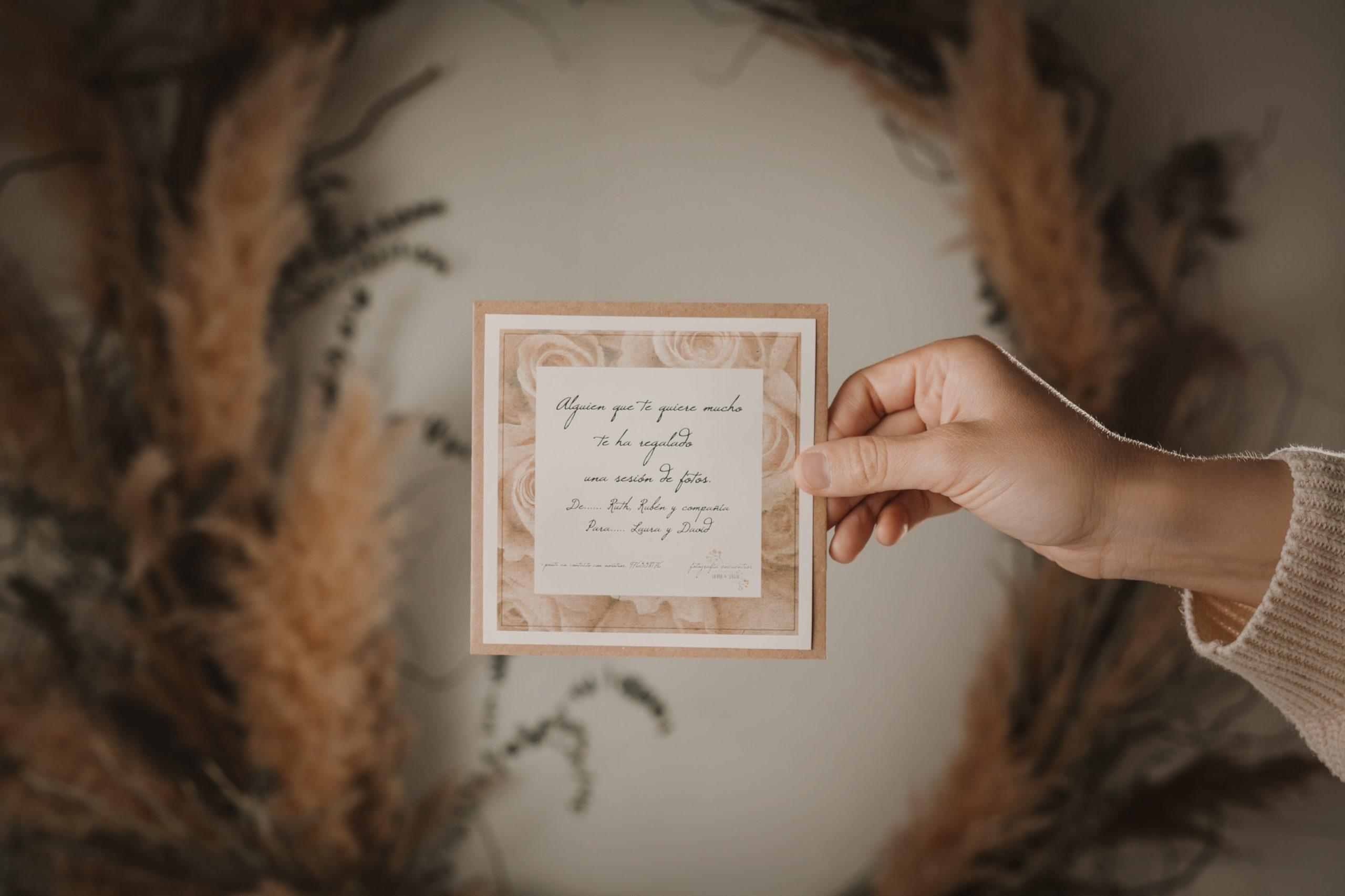 arjeta regalo, tarjeta regalo sesi—n de fotos, regalo original, regalo diferente, regalo sesion de fotos